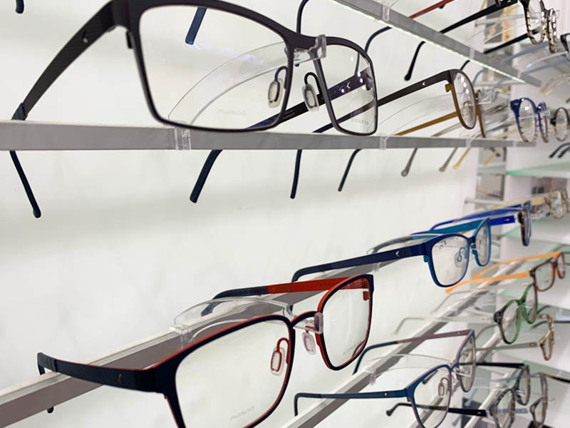 Eye glass store eyewear